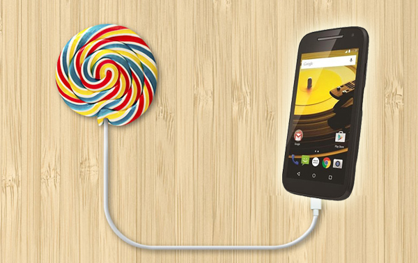 Android 5.1 Lollipop en el Moto E 2015