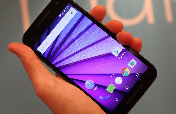 Moto G 2015 con Android 6.0 Marshmallow