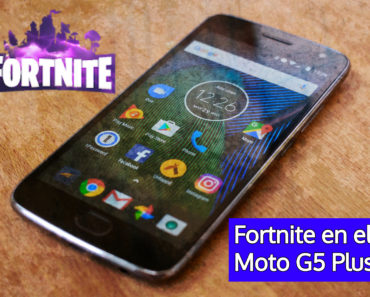 fortnite para el Moto G5 Plus